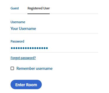 RegisteredUser-AdobeConnect-افراتک-کلاس و وبینار آنلاین